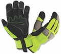 HI-VIS WORKER'S GLOVE