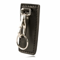 Boston Leather Highride Key Holder w/Belt Clip