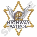 Highway Patrol 6 Point Star