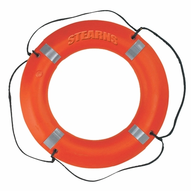 "I030 Type IV 30"" Ring Buoy with Reflective Stripes"