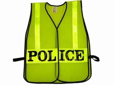 Identifier Vest with Reflective Striping