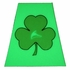 Illuminating Reflective Shamrock Helmet Sticker