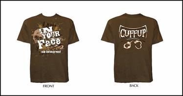 In Your Face CuffUp Shirt