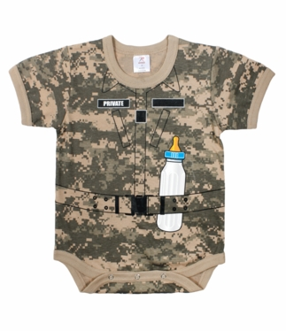 Infant One-piece Soldier Suit