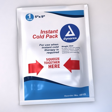 """Dynarex Instant Disposable Cold Pack, 5""""x 9"""""""