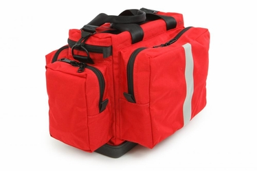 Intermediate I Trauma Bag with Tuff Bottom- Adjustable Padded Dividers