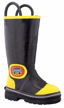 JAVA – Rubber fire boot – Nomex lining