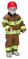 Jr. Fire Fighter Suit, Size 18 Month (tan)