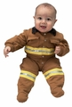 Jr. Firefighter Suit (tan), size 6/12M