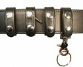 Boston Leather - Leather Belt Keepers Combo Pack, Deluxe