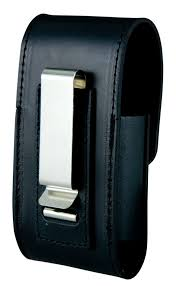 Boston Leather - Leather Cell Phone Case for iPhone 4 and Blackberry 4210