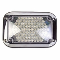 Weldon LED, 4x6 Auxilliary Backup, Bezel, Clear