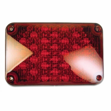 Weldon LED, 4x6 Stop & Tail, Red