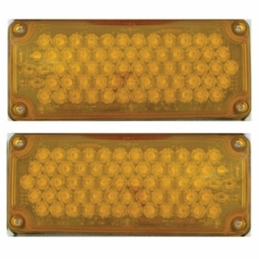 Weldon LED Seq Turn Kit, 3x7, 2 Lamps, Amber