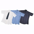 Liberty Uniform Poly/Cotton Uniform Shirts - Short Sleeve