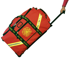 Lightning X - Deluxe XXXL Turnout Gear Bag with wheels
