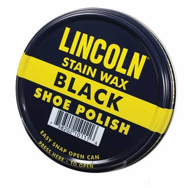Lincoln USMC Black Stain Wax Polish