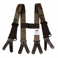Majestic Bunker Pants Padded Camo Suspenders