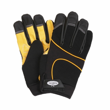 Majestic Leather Palm Mechanics Glove