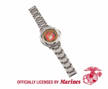 MARINE CORP LOGO QUARTZ WATCH