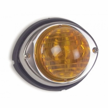 Weldon Marker Lights with Ground Tab, #1157 Bulb, Amber