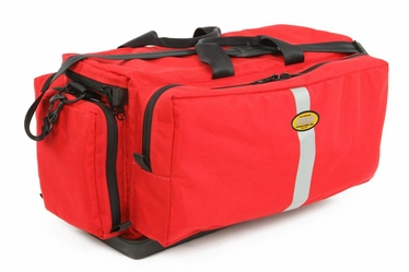 Mega Medic's Bag with Tuff Bottom- O2 Tank Straps & Padded Dividers