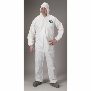 MicroMax Coverall w/hood 25/Case