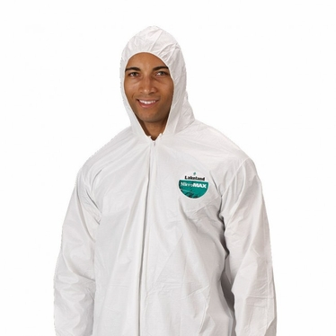 MicroMax Coverall w/Zipper and hood 25/Case