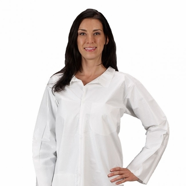 MicroMax Lab Coat w/ Pockets 30/Case