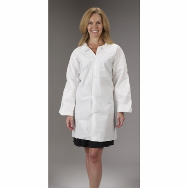 MicroMax NS Lab Coat No Pockets 30/Case