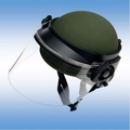 Military Police Riot Face Shields-DK6-H-150S