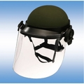 Military Police Riot Face Shields - DK6-X.250