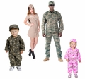 Military Style Costumes for Kids & Adults