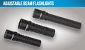 Night Stick Adjustable Beam Flashlights