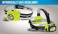 Night Stick Intrinsically Safe Headlamps