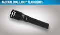 Night Stick Tactical Dual-Light Flashlight