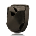 Boston Leather Open Top Cuff Case