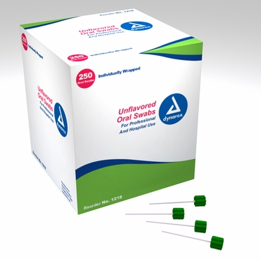 Oral Swabsticks, untreated (Individually Wrapped) 4 Boxes of 250 count