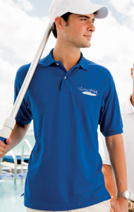 Outer Banks Blended Jersey Knit Polo
