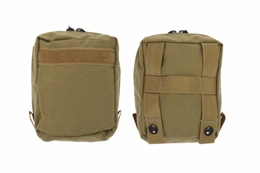 Outside Front Pocket with Zipper