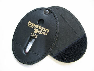 Boston Leather Oval Holder with Generic Pin-In, Swivel