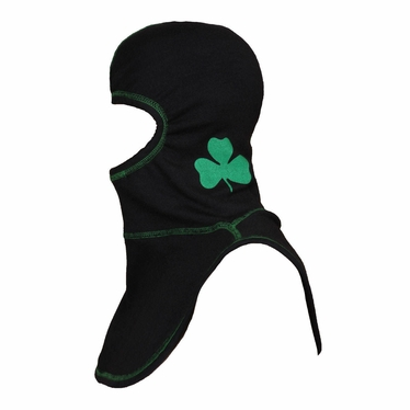 Majestic Apparel PAC II Black Irish Pride Specialty Hood w/ Shamrock