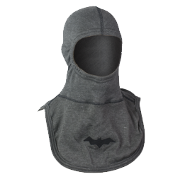 Majestic Apparel PAC II Gray Specialty Hood with Bat Logo