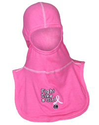 Majestic Apparel PAC II Pink Specialty Hood with Fight Like A Girl