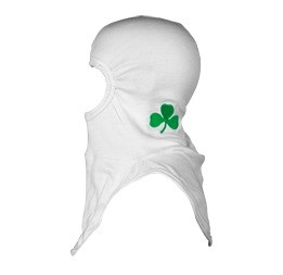 Majestic Apparel PAC II Shamrock in White Embroidered