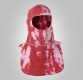Majestic Apparel PAC II Specialty Hood Tie Dye Red/White