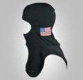 Majestic Apparel PAC II Specialty Hood with American Flag
