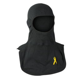 Majestic Apparel PAC II Specialty Hood with Yellow Troop Support Ribbon