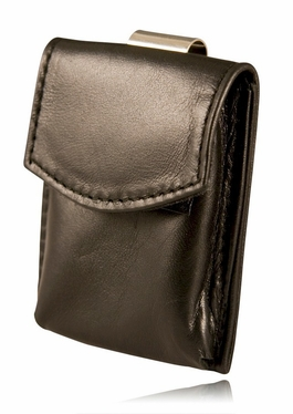 Boston Leather Pager Holder w/ Clip 5580