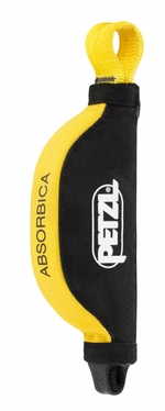 Petzl ABSORBICA compact energy absorber, for use in combination with JANE lanyard